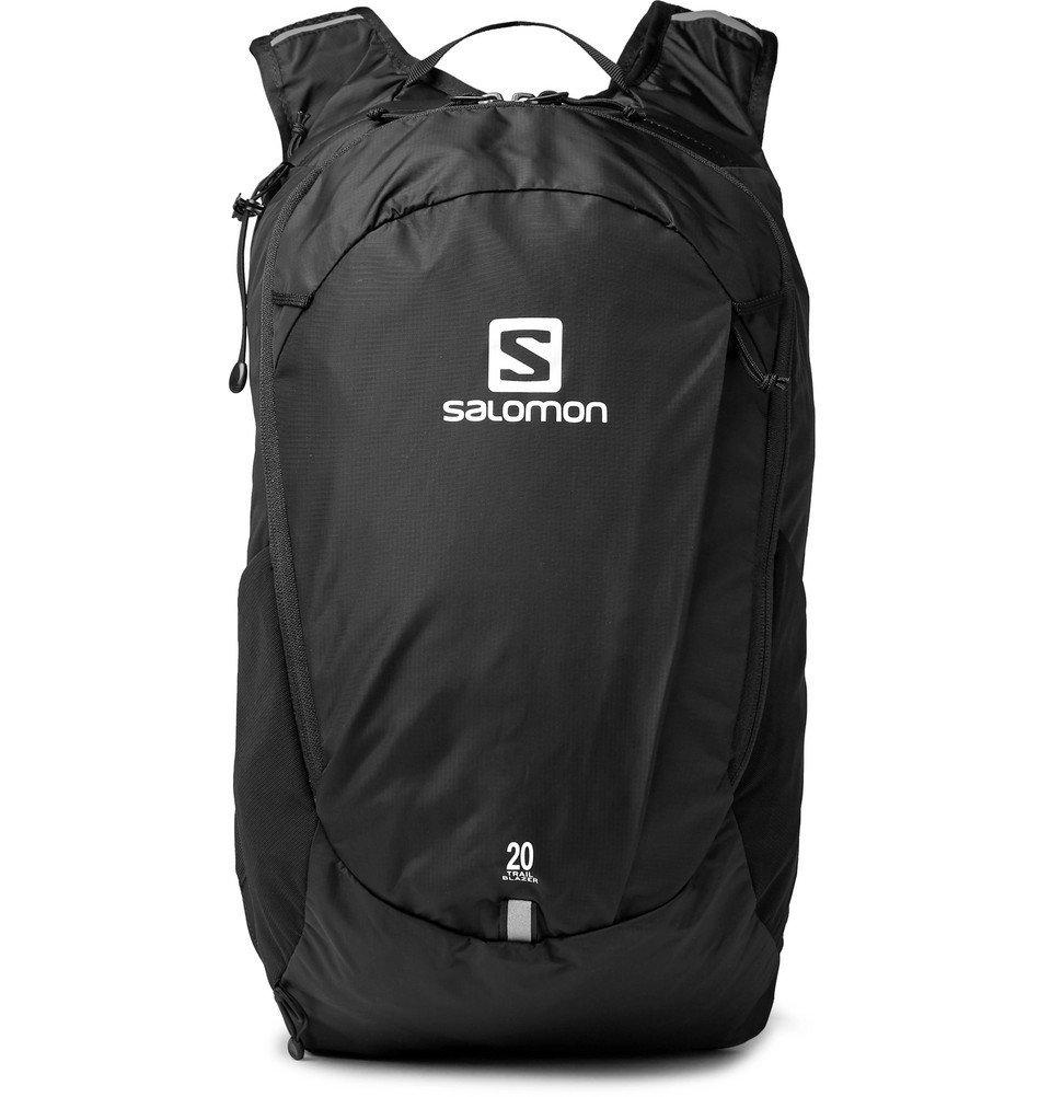 Photo: Salomon - Trailblazer 20 Shell Backpack - Black
