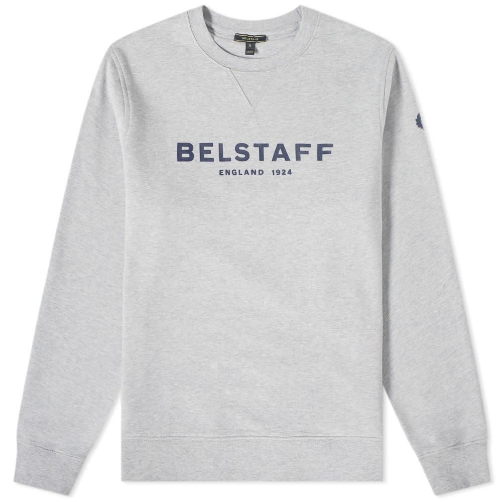 Belstaff Printed Logo Sweat Grey