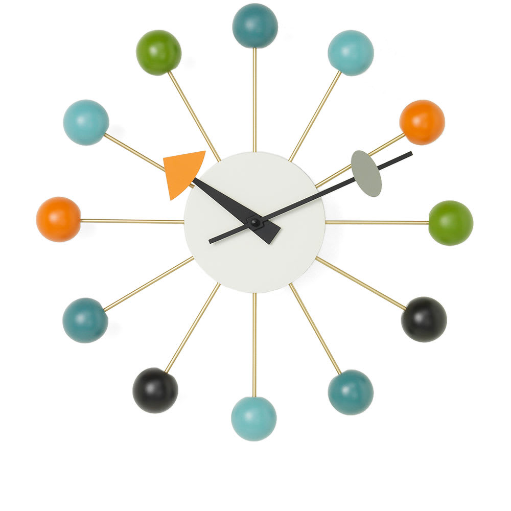 Photo: Vitra George Nelson Ball Wall Clock