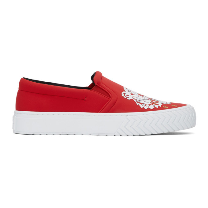 Photo: Kenzo Red Limited Edition Chinese New Year K-Skate Sneakers