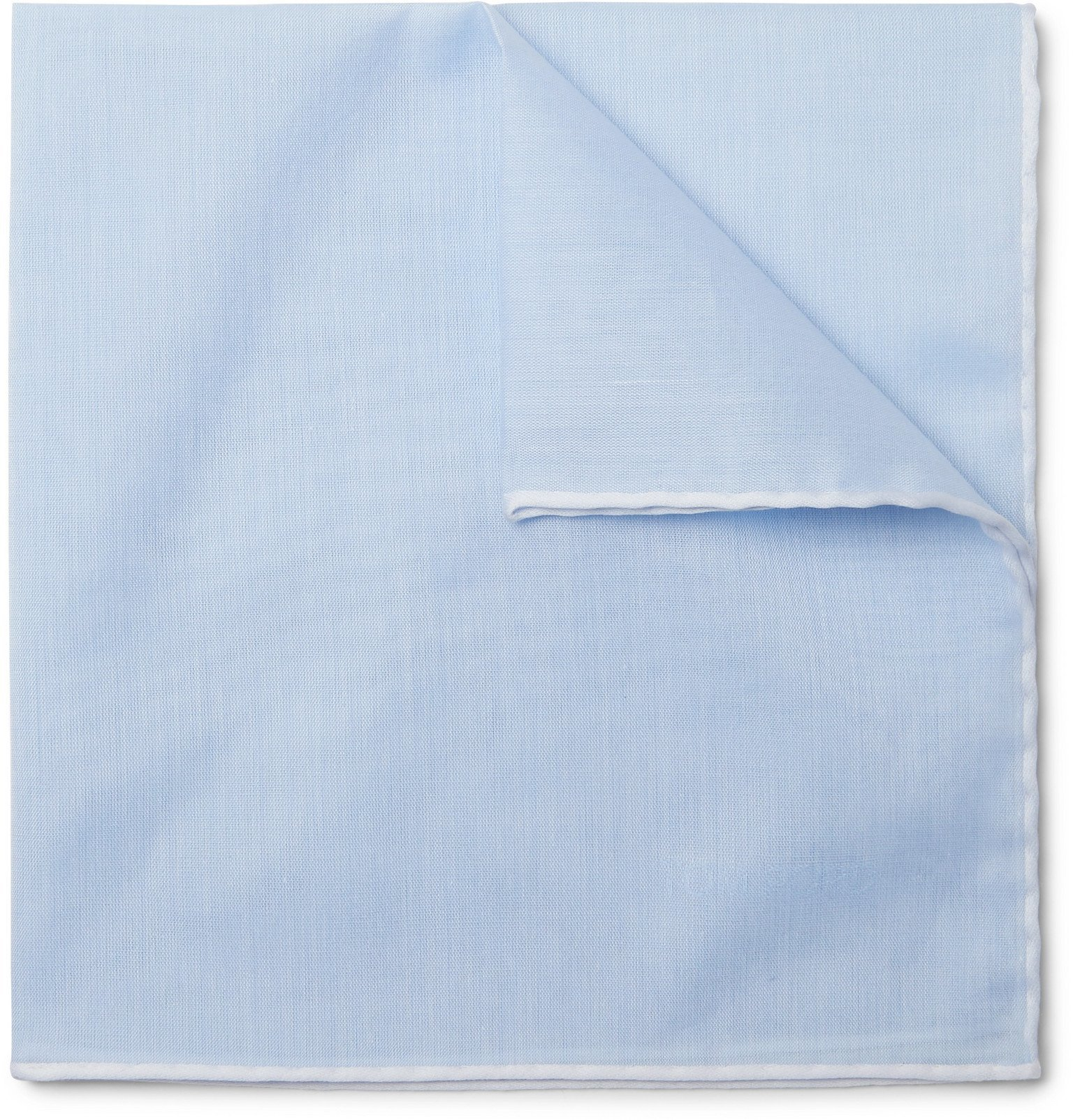 Photo: TOM FORD - Cotton Pocket Square - Blue