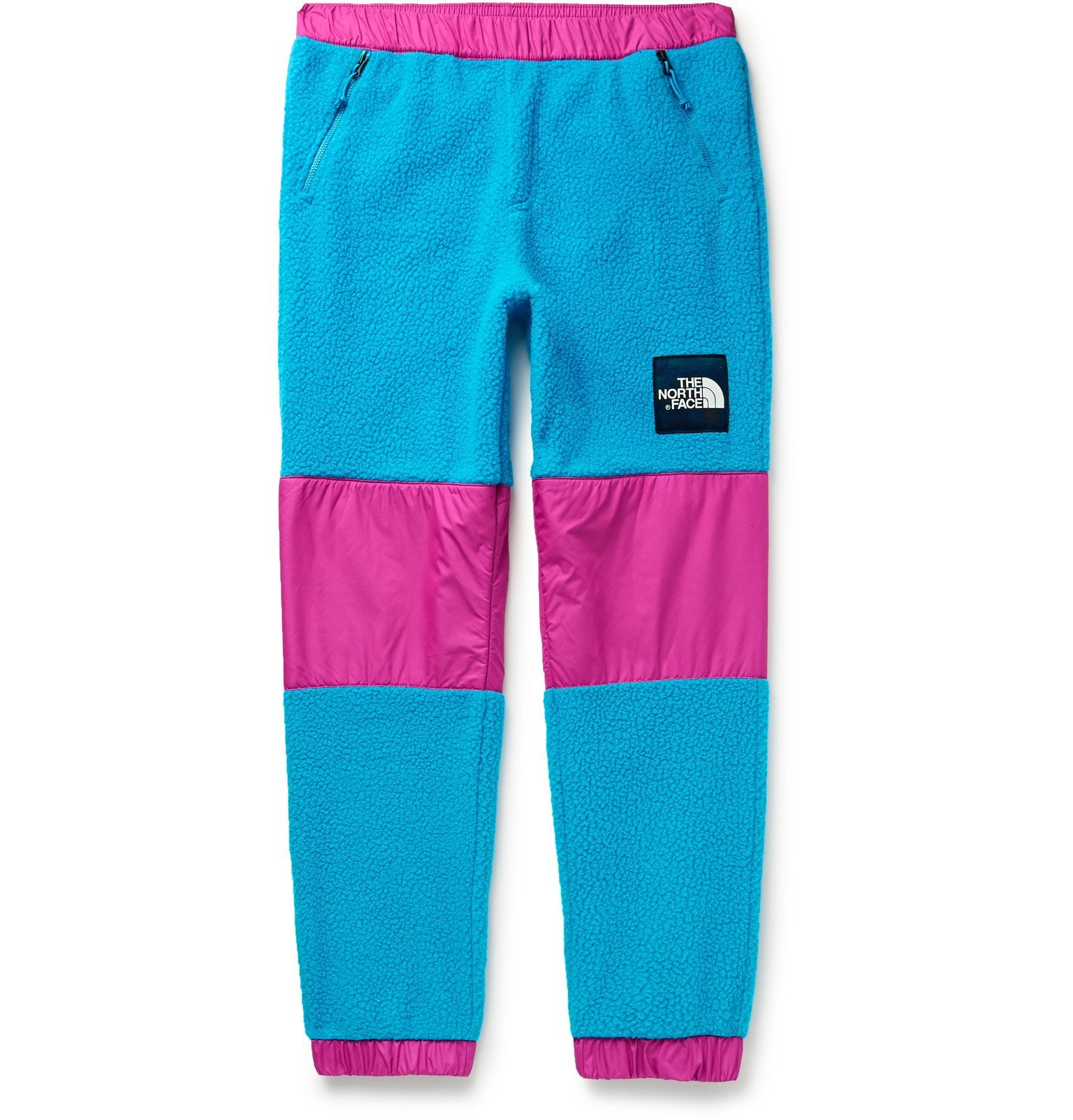 Photo: The North Face - '95 Retro Denali Tapered Colour-Block Shell and Fleece Sweatpants - Black
