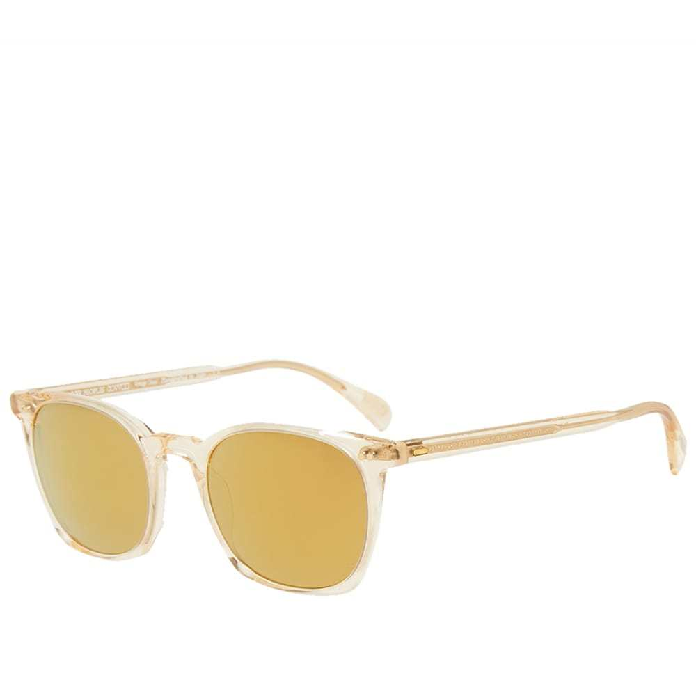 Oliver Peoples L.A. Coen Sunglasses Gold