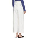 3.1 Phillip Lim White Paper Bag Cropped Trousers