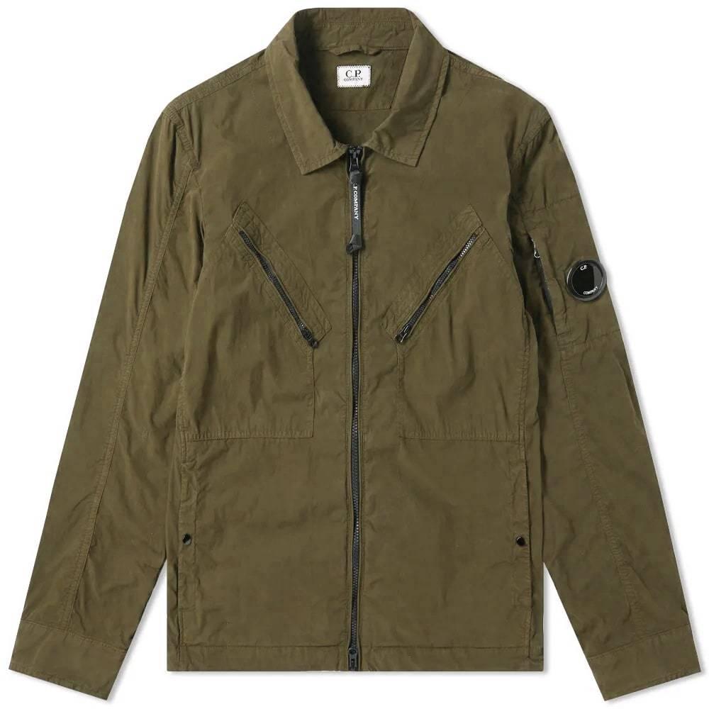 Photo: C.P. Company Cotton Nylon Arm Lens Shirt Jacket