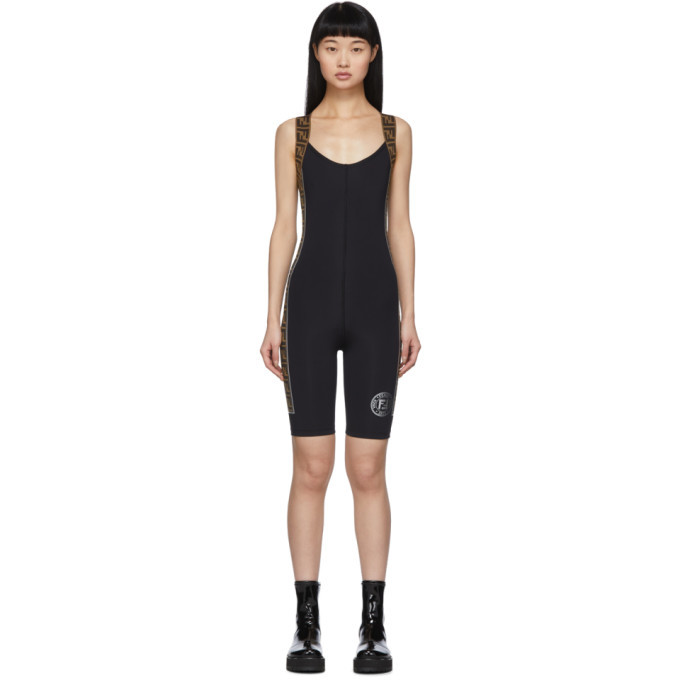 Photo: Fendi Black Forever Fendi Jumpsuit