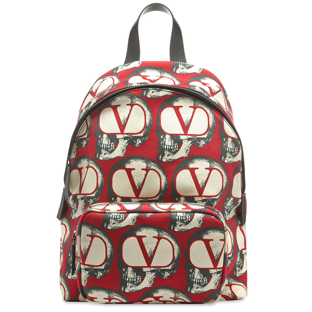 Photo: Valentino x Undercover Skull Print Backpack