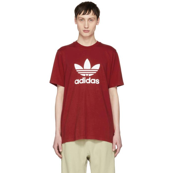 adidas Originals Red Trefoil T-Shirt