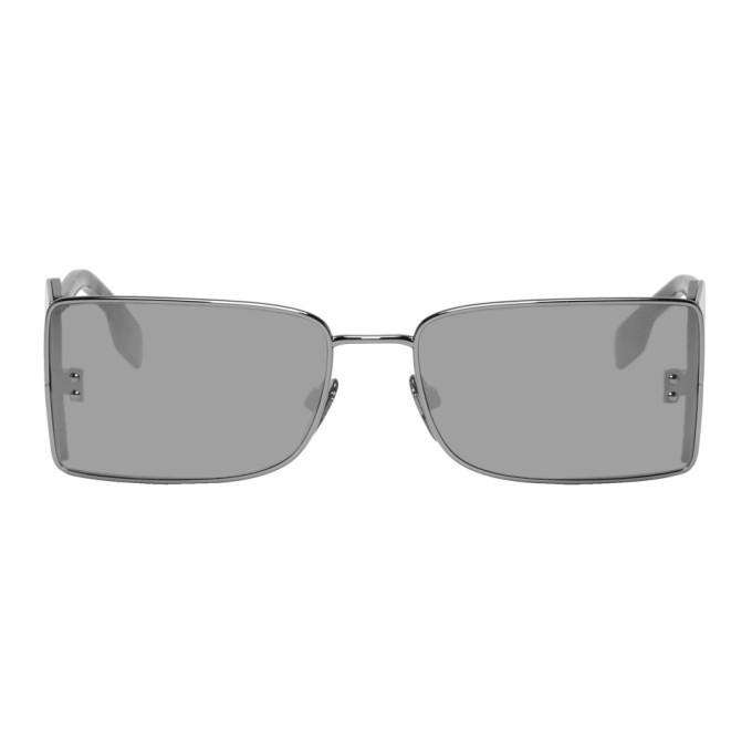 Photo: Burberry Gunmetal B Sunglasses