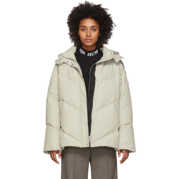 Photo: Won Hundred Off-White Down Elisabeth Jacket