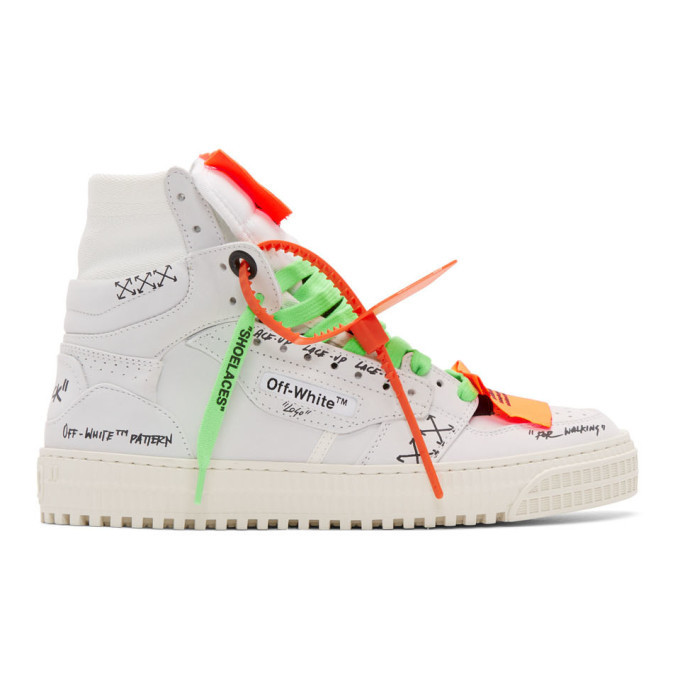 Photo: Off-White White Off-Court 3.0 Sneakers