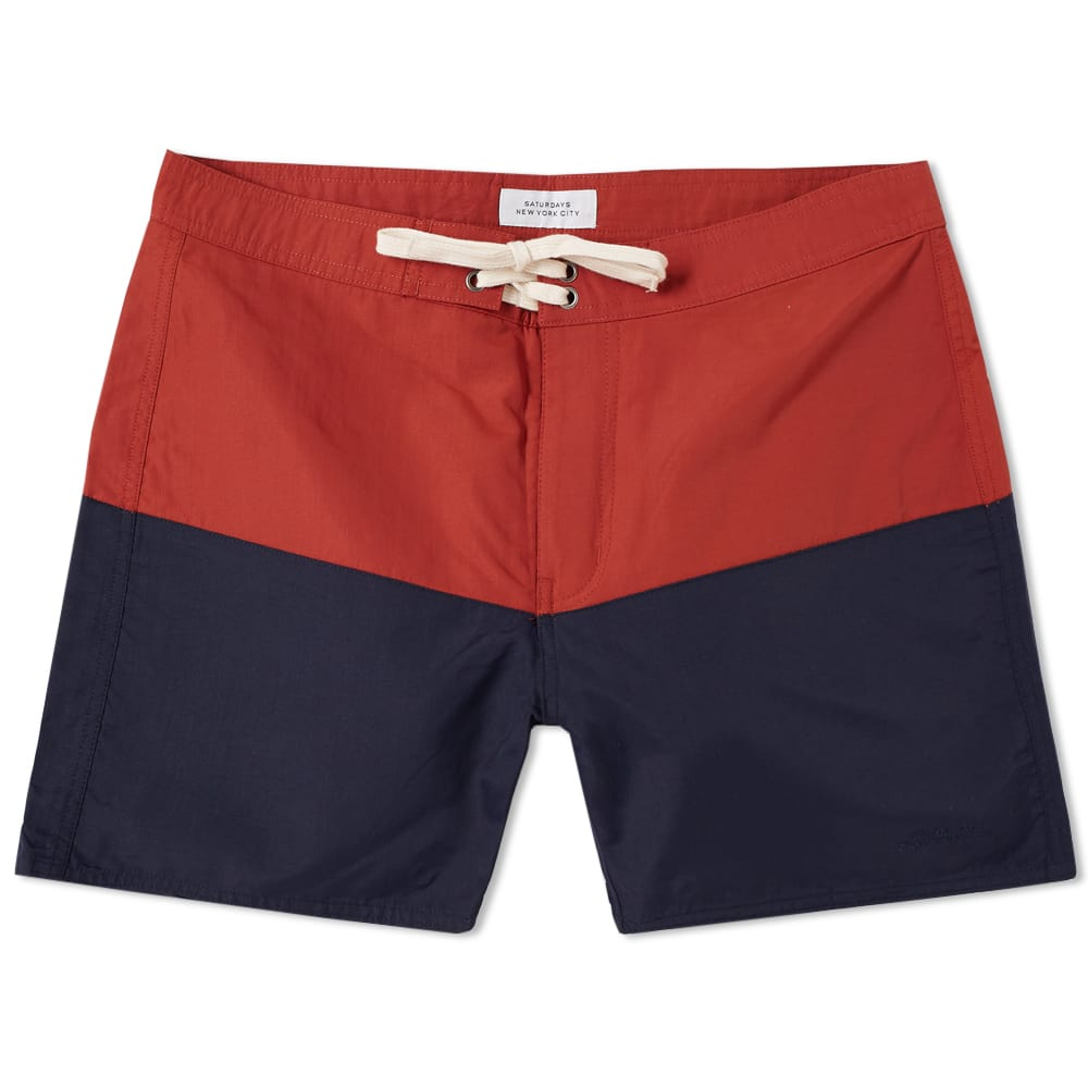 Photo: Saturdays NYC Ennis Boardshort