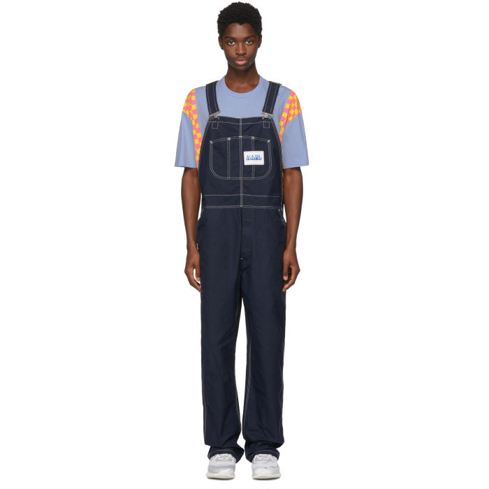 Photo: Napa x Martine Rose Blue Cotton Overalls