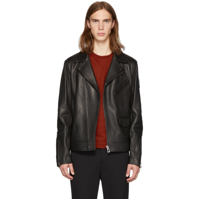 Photo: Belstaff Black Fenway Jacket