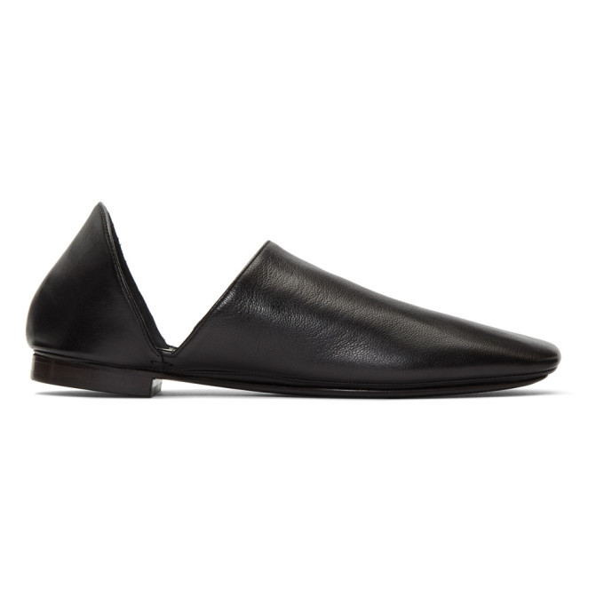 Photo: Lemaire Black Babouche Loafers