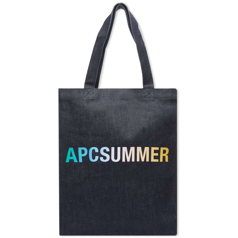 Photo: A.P.C Lou Summer Denim Tote Bag