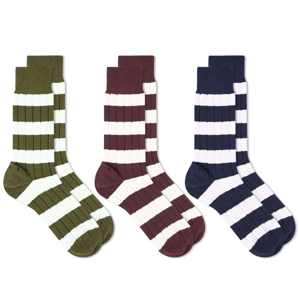 Photo: Schiesser Ferdinand 3 Pack Socks