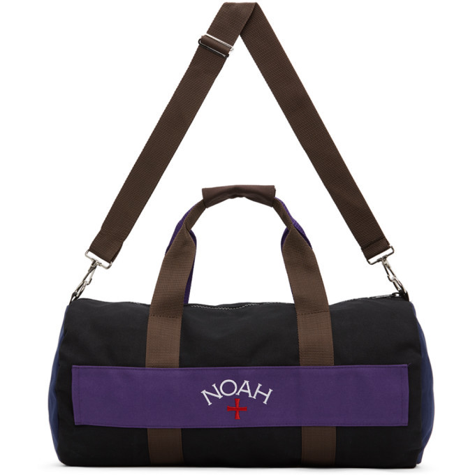 Photo: Noah NYC Multicolor Colorblocked Duffle Bag