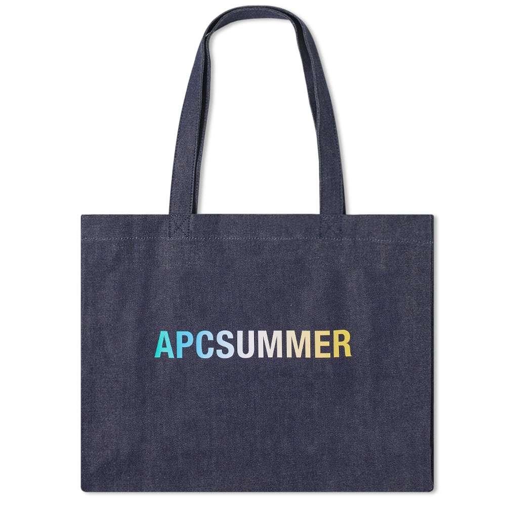 Photo: A.P.C Diane Summer Denim Shopping Bag