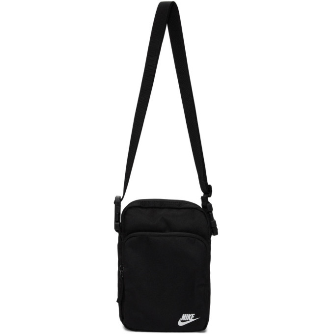 Photo: Nike Black Heritage Smit 2.0 Messenger Bag