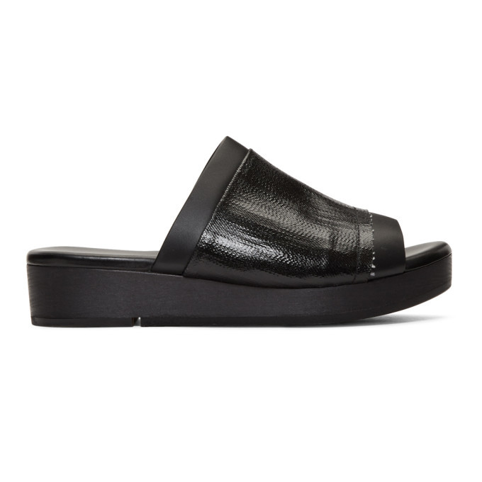 Photo: Rick Owens Black Island Clog Sandals
