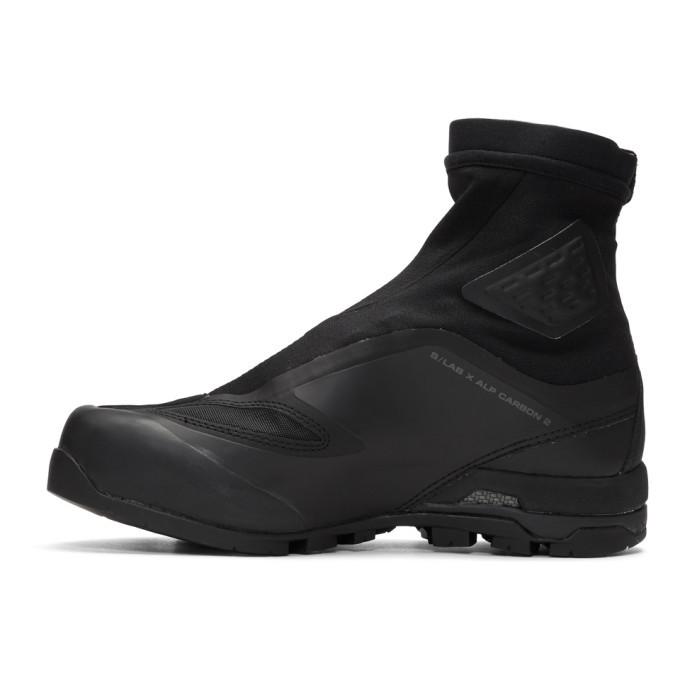 TAKAHIROMIYASHITA TheSoloist. Black Salomon S/Lab Edition X-Alp Carbon 2 Sneakers