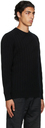 Dunhill Black Knurl Cable Sweater