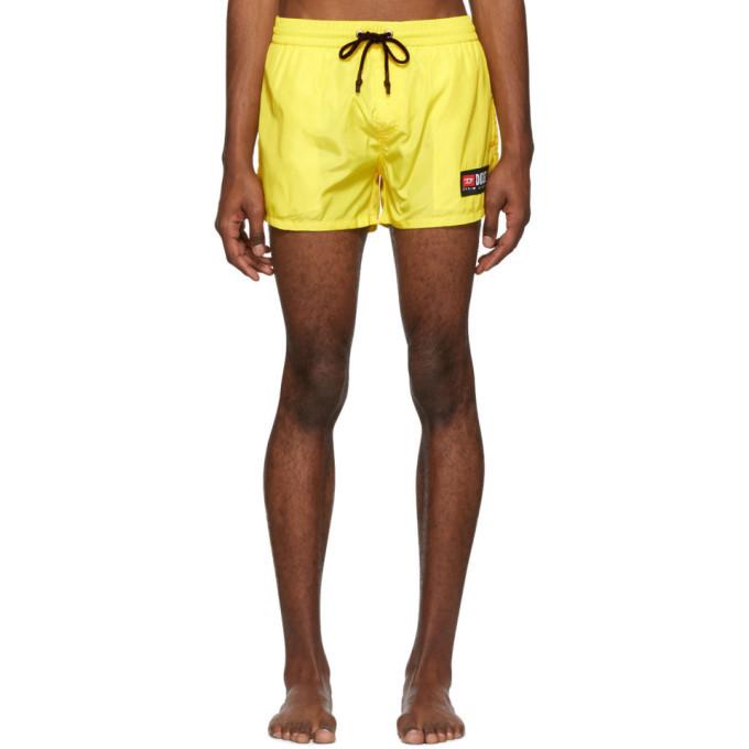 Photo: Diesel Yellow BMBX-Sandy Swim Shorts