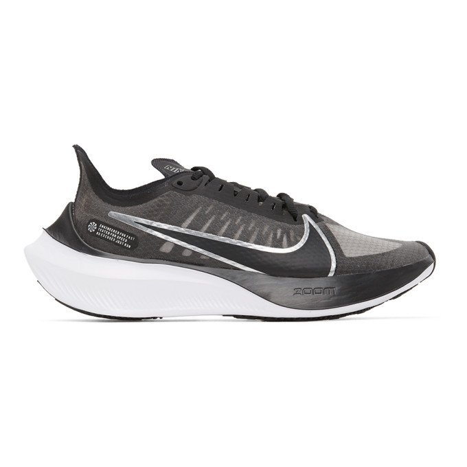 Photo: Nike Black and Grey Zoom Gravity Sneakers