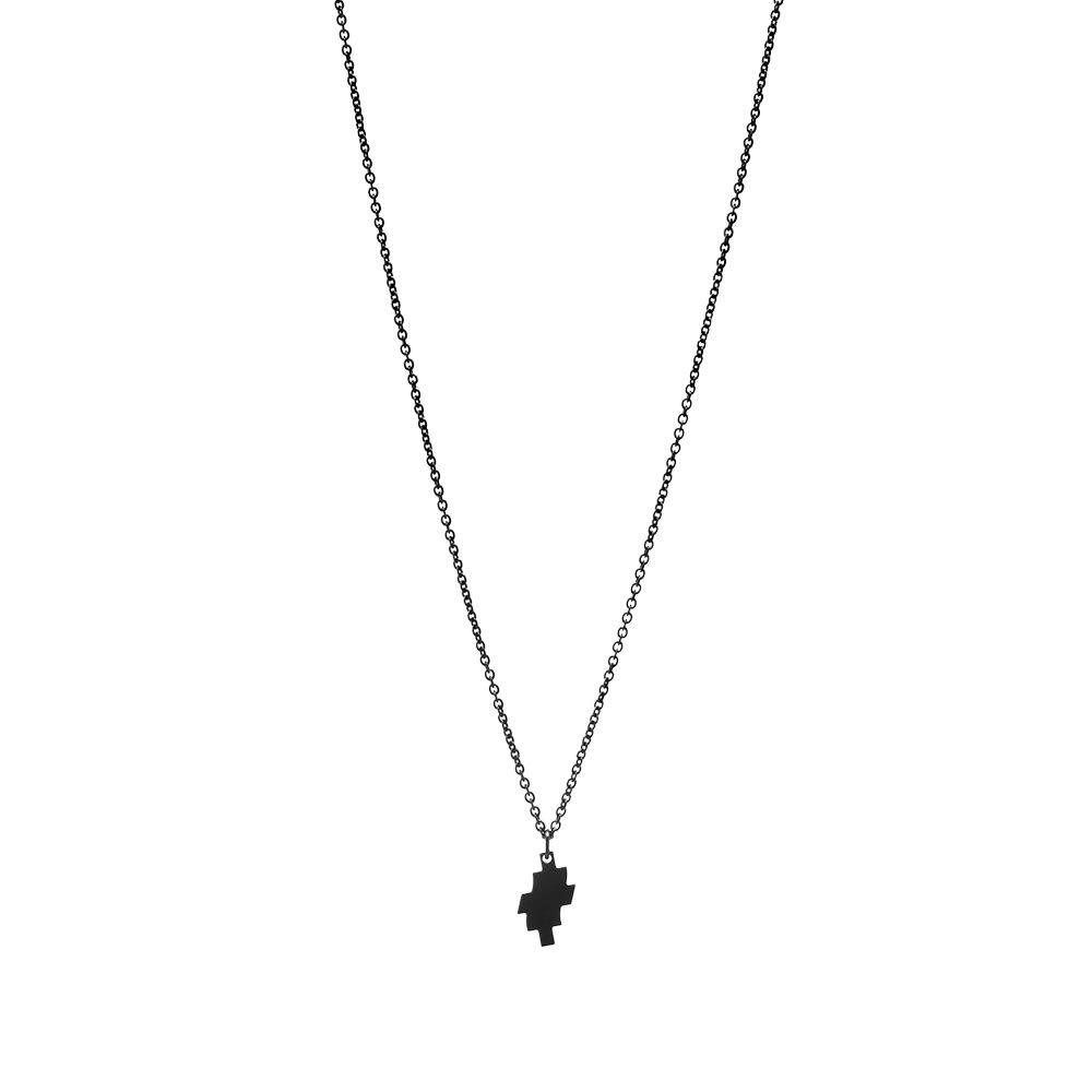 Photo: Marcelo Burlon Distorted Cross Necklace