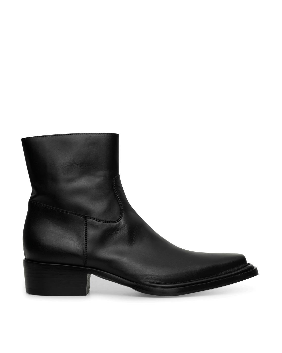 Acne Studios Leather Boots Black