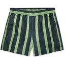 Acne Studios - Warrick Slim-Fit Mid-Length Striped Swim Shorts - Blue