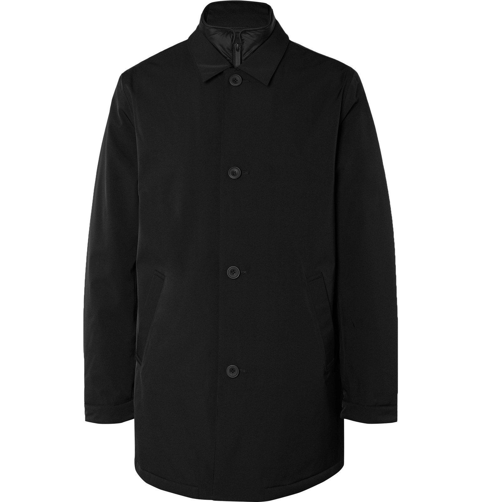 Photo: NN07 - Blake Shell Coat with Detachable PrimaLoft Liner - Black