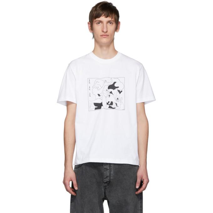 Photo: Carne Bollente White Wow Wow Wow T-Shirt