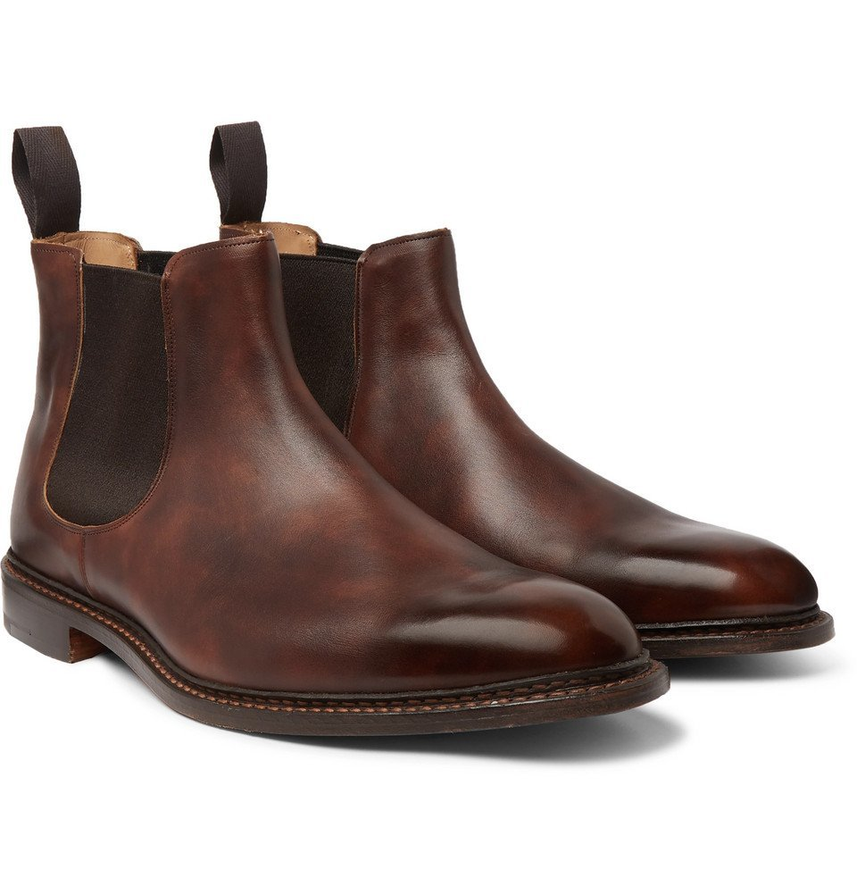 Photo: Tricker's - Roxbury Leather Chelsea Boots - Brown