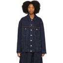 Martine Rose Indigo Oversized Denim Jacket