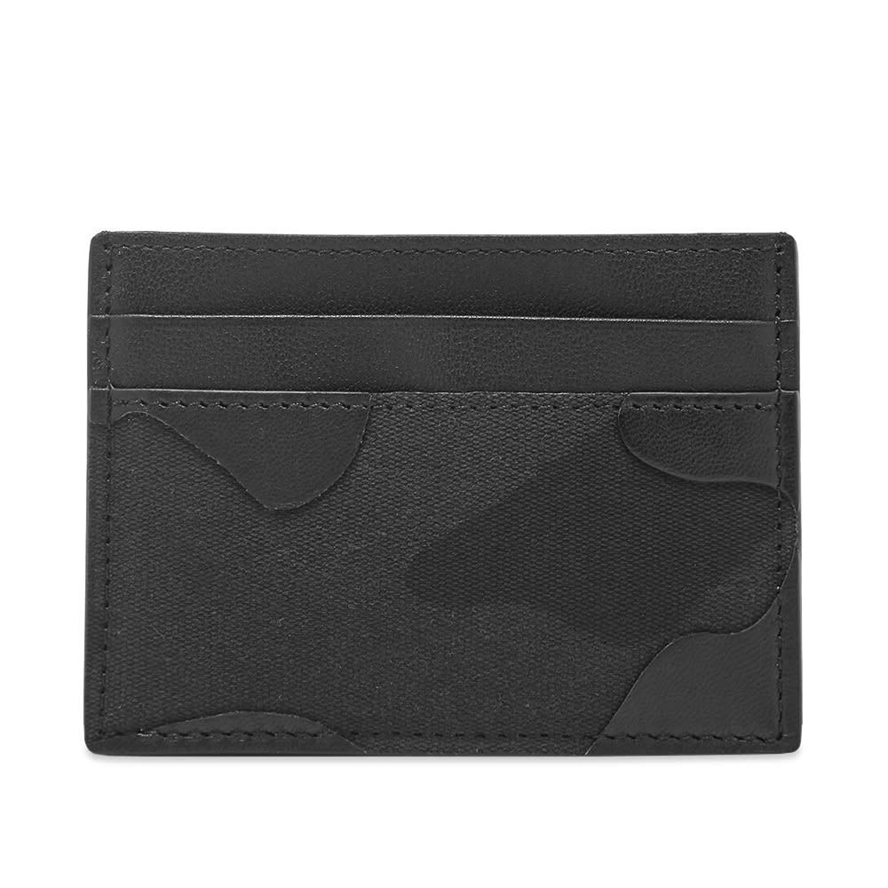 Photo: Valentino Bonded Camunoir Card Holder