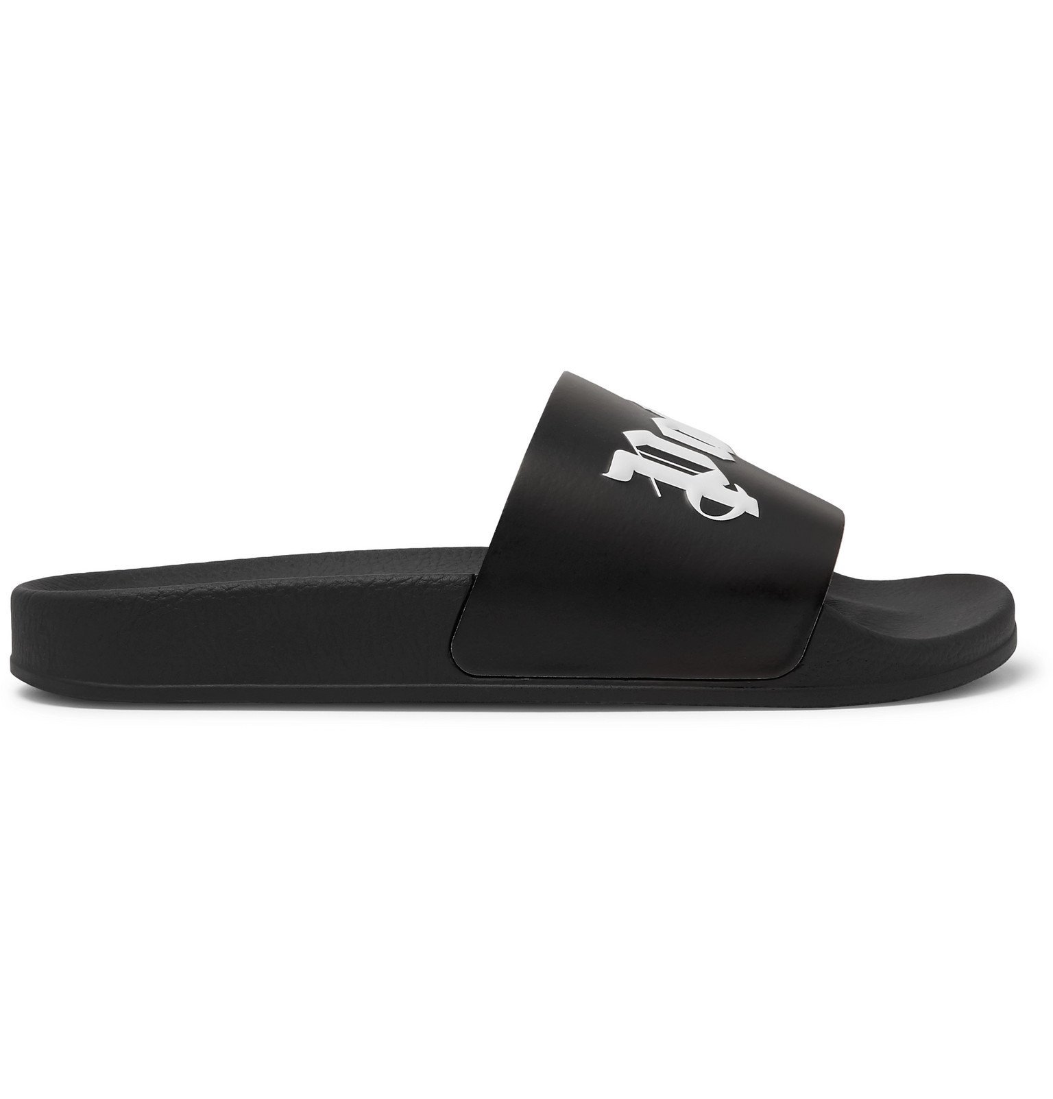 Photo: Palm Angels - ICECREAM Printed Rubber Slides - Black