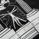 ARIES - Biology Printed Cotton-Jersey T-Shirt - Black