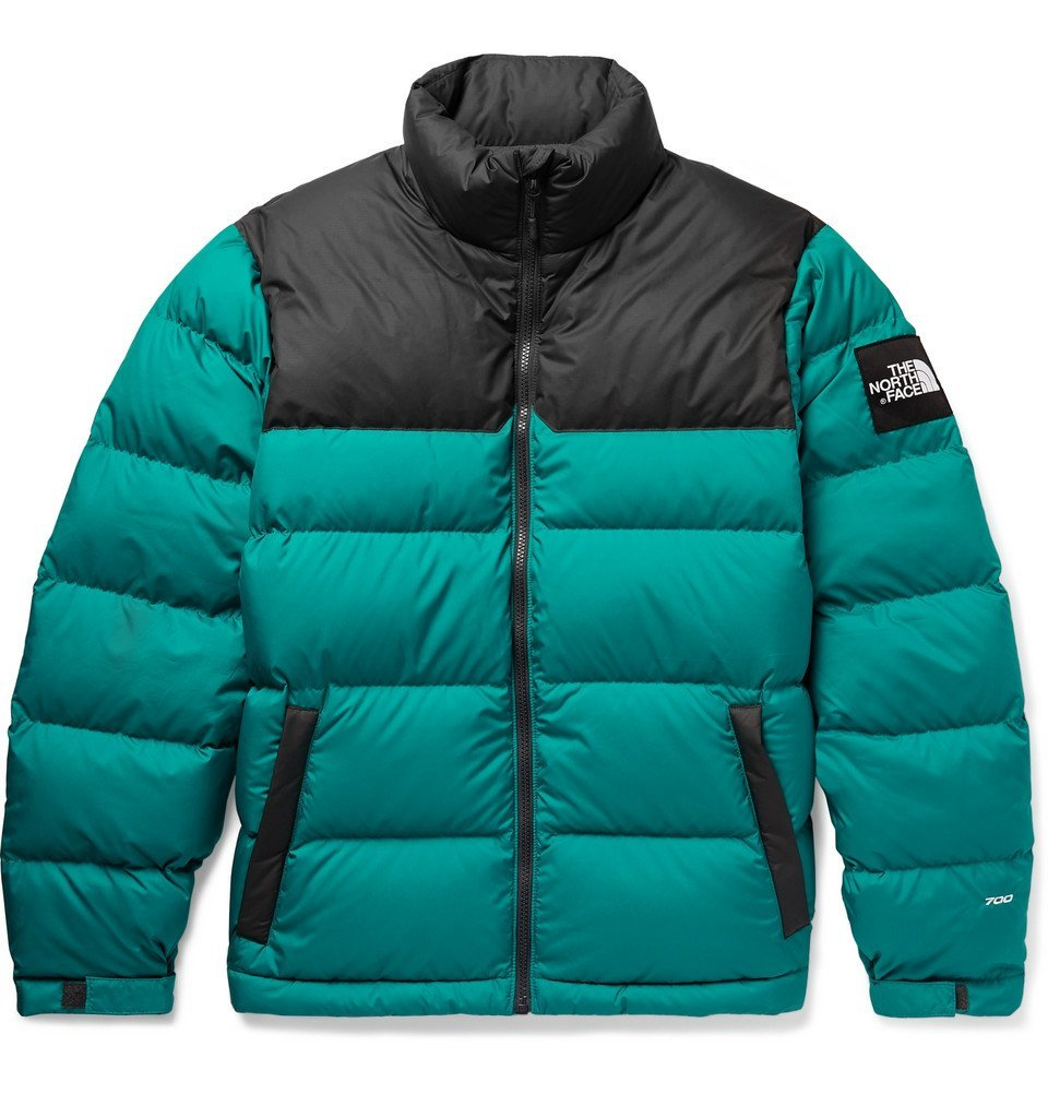 Photo: The North Face - 1992 Nuptse Quilted Nylon-Ripstop Down Jacket - Men - Green