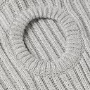 Raf Simons - Oversized Cutout Metallic Knitted Sweater - Men - White