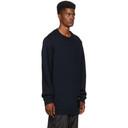 3.1 Phillip Lim Navy Maxi Chunky Wool Sweater
