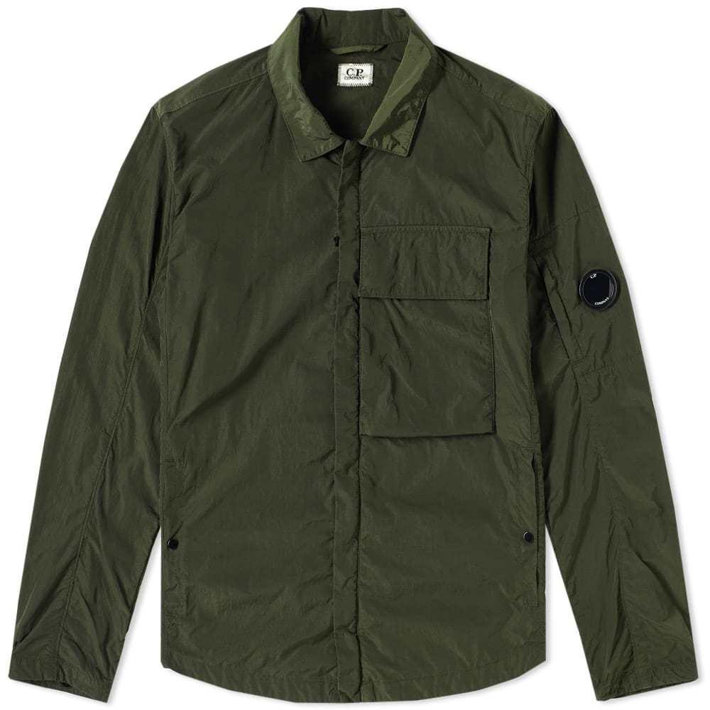 C.P. Company Chrome Arm Lens Shirt Jacket Green