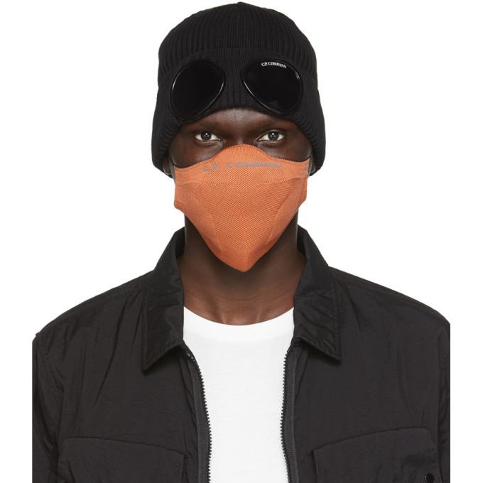 Photo: C.P. Company Orange Dryarn® Face Mask