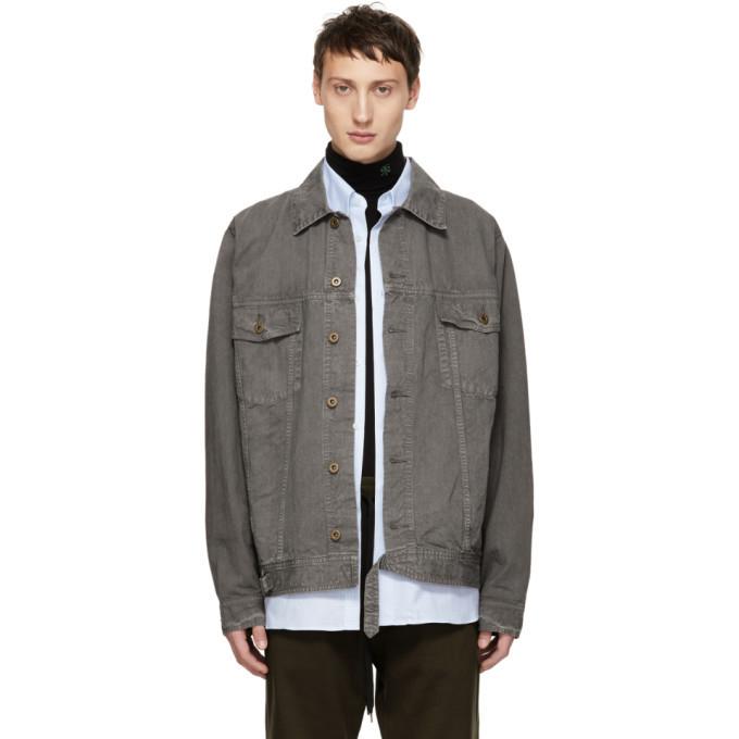 Photo: Robert Geller Grey The Lukas Denim Jacket