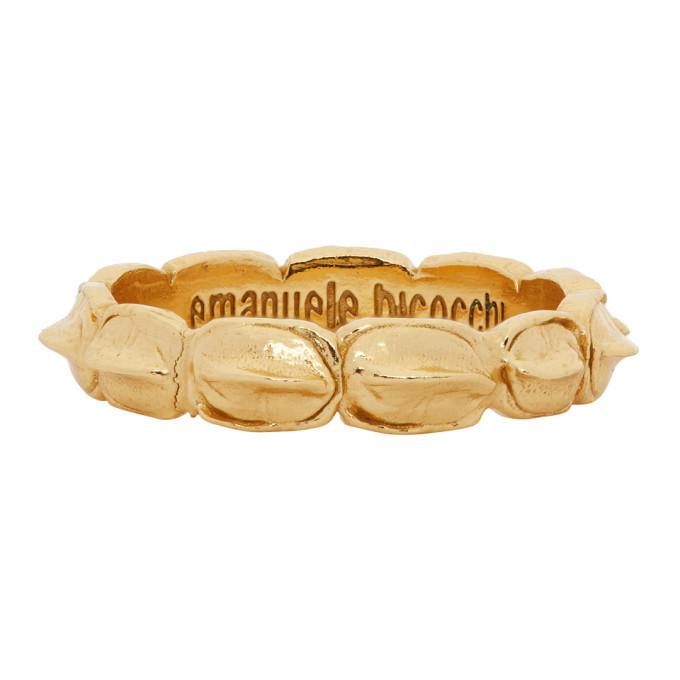Photo: Emanuele Bicocchi Gold Croc Ring