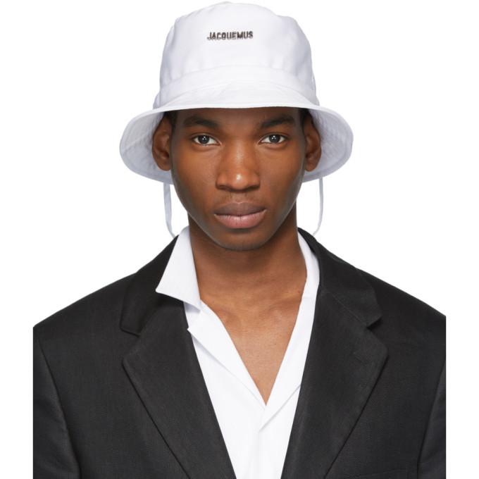 White Bob Jacquemus Hat Bucket Le LGqUzVSMp