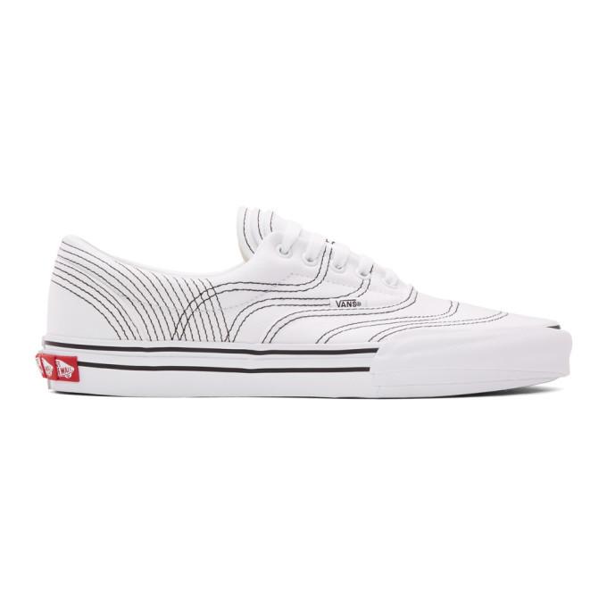 Photo: Vans White Vision Voyage Era 3ra Sneakers