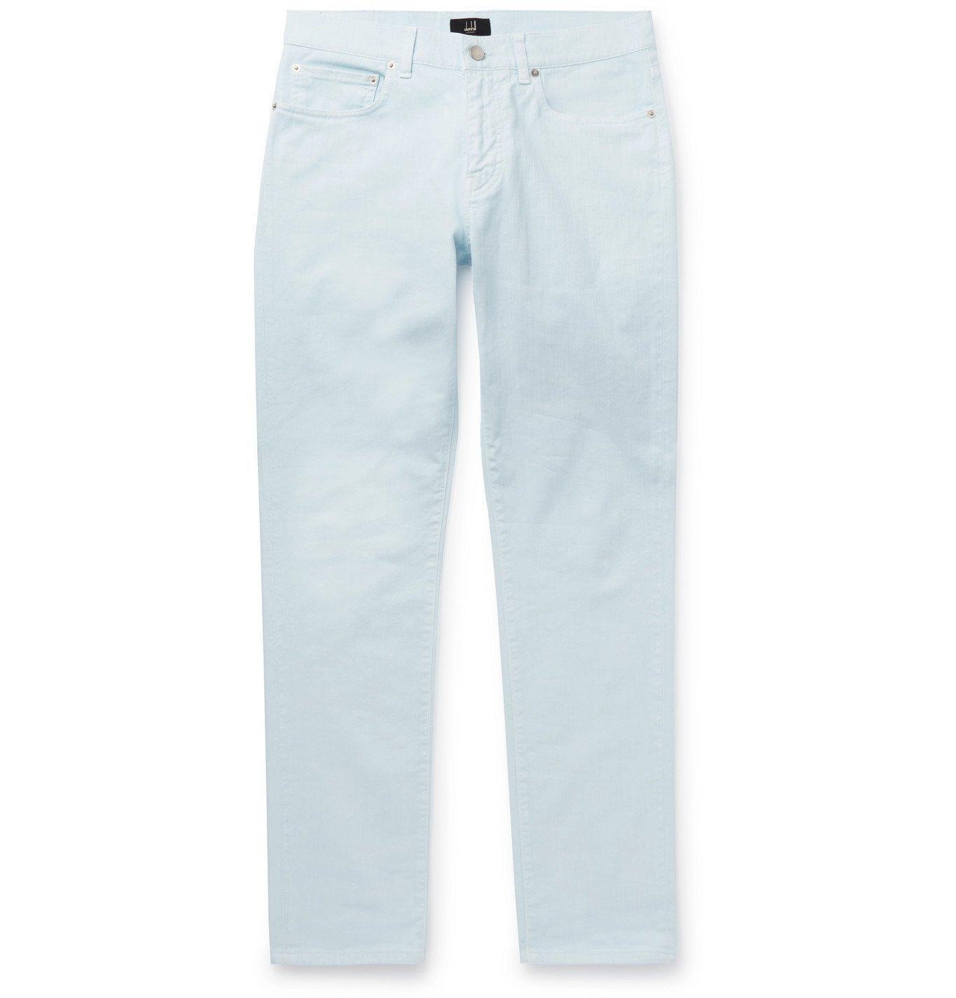 Dunhill - Slim-Fit Denim Jeans - Blue