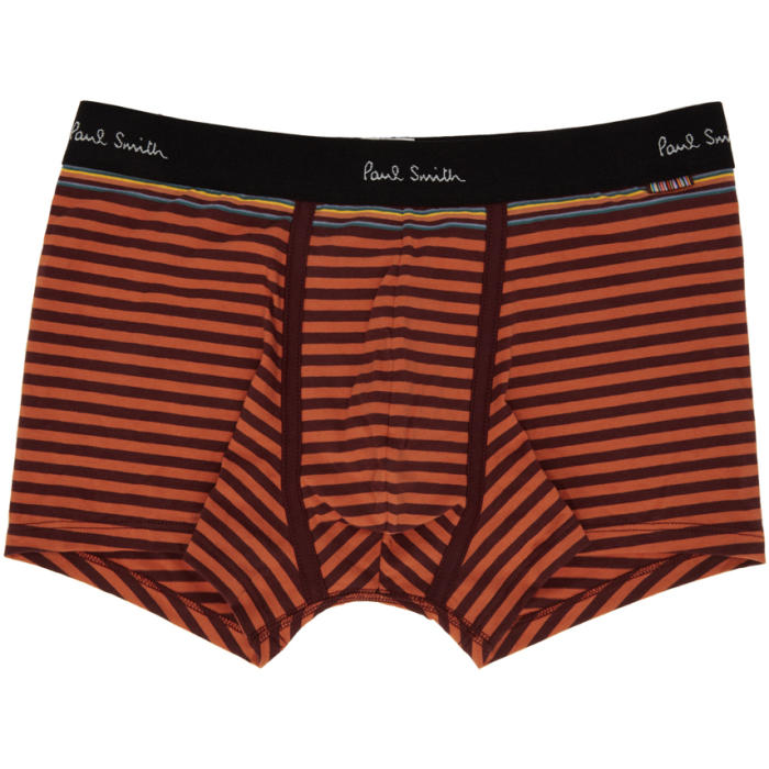 Photo: Paul Smith Red and Orange Striped Boxer Briefs